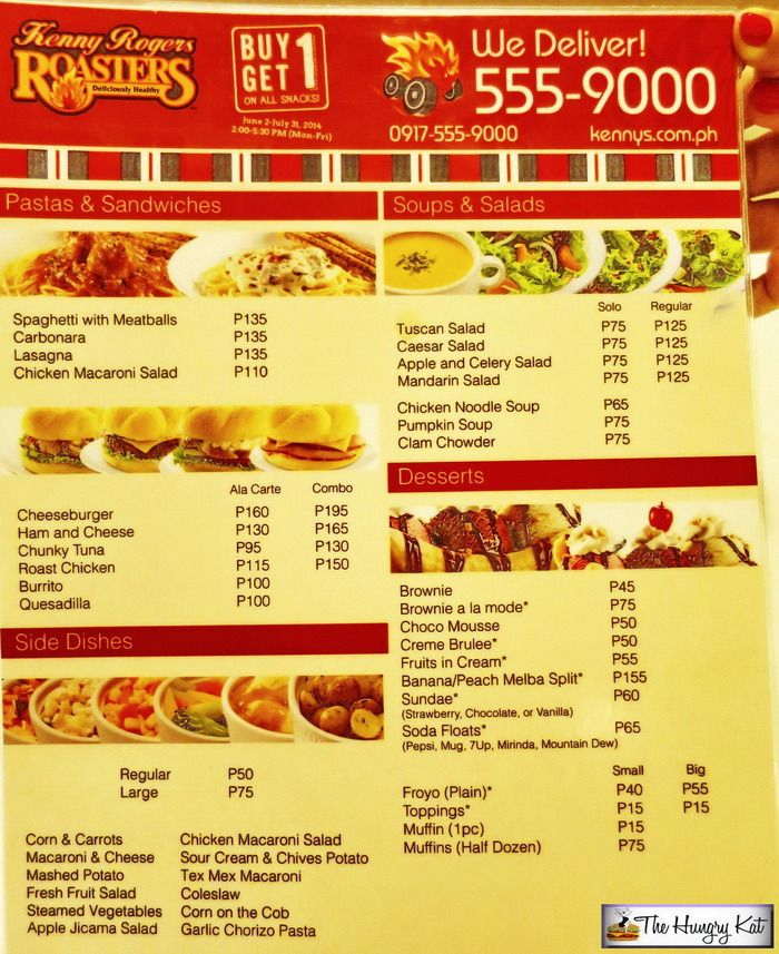 The Hungry Kat Kenny Rogers Roasters Buy 1 Get 1 Snacks Food Food And Drink Hungry