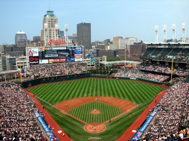 progressive field - home of the indians