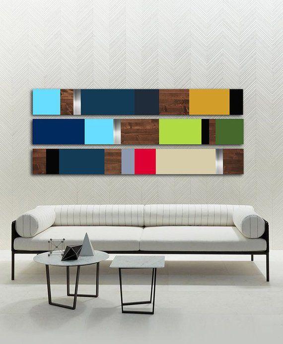 Minimalist Large Art Modern Home Decor Mid Century Modern Etsy In 2021 Modern Metal Wall Art Bedroom Art Painting Wall Sculpture Art