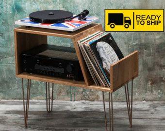 Soporte de tocadiscos Stanton Larrge / LP / vinilo mueble /