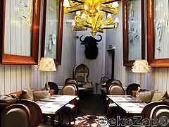 Ресторан Конг, терраса, дизайн Филипп Старк