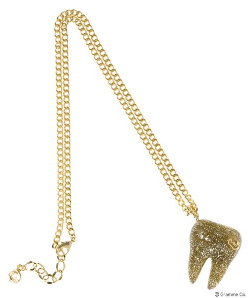 Tooth Necklace (GLD)
