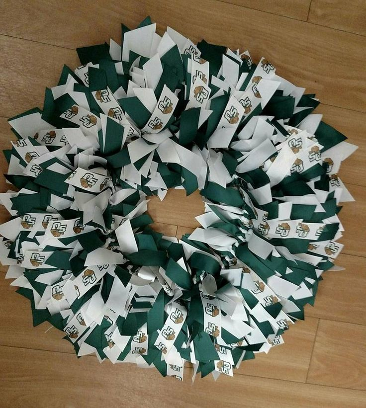 Stetson University Ole Miss Wreath,College Wreath, Football Wreath, College Football Wreath, Custom Made by NannysSurprise on Etsy