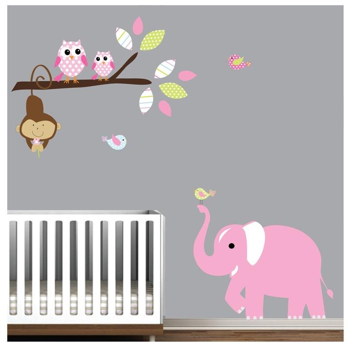 Image Result For Elephant Decals For Nurserya