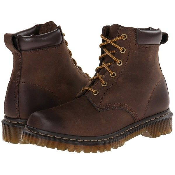 Dr. Martens 939 6-Eye Boot Women's Lace-up Boots ($135) ❤ liked on Polyvore featuring shoes, boots, ankle booties, ankle boots, laced ankle boots, lace up boots, leather upper boots, laced boots and lace up ankle bootie