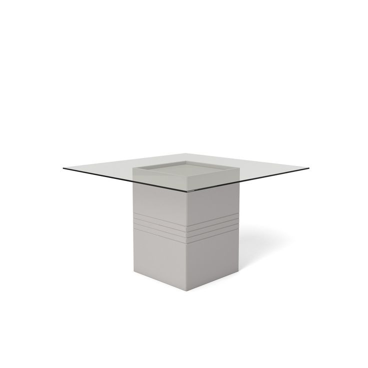 Perry 1.8   55.12 In Sleek Tempered Glass Table Top