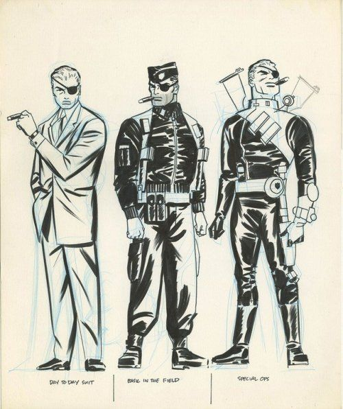 cantstopthinkingcomics:Nick Fury by Darwyn Cooke  cantstopthinkingcomics:  Nick Fury by Darwyn Cooke