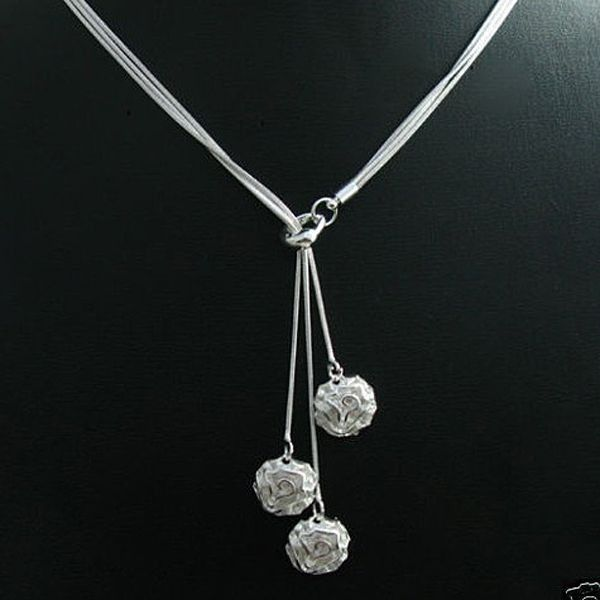 High quality Silver rose 925 Necklace. Get it on Weekly deal for R 143.99 Shop Now!