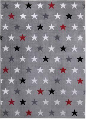 #Unisex #Teppich #Starry #Sky, #grau   #160 #x 225 Der kuschelweiche Webteppich ist ein kleiner Gruß aus dem großen Universum und ein Must-Have für Sternengucker. Die kleinen Sterne leuchten in verschiedenen Farben und setzen dabei attraktive Akzente in jedem Raum. Florhöhe: 8,5 mm Material: Nutzschicht: 100% Polyester Unterseite: 50% Polyester und 50% Jute Gütesiegel TEXTILES VERTRAUEN - schadstoffgeprüft nach Öko-Tex Standard 100 (Prüfinstitut Hohenstein Prüfnummer D20-0634)