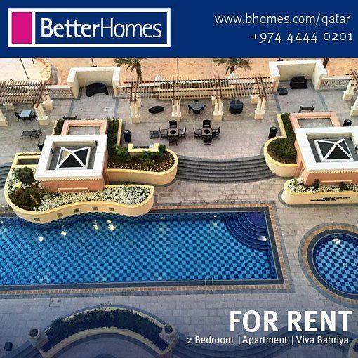 FOR RENT: 2 Bedroom Apartment In Viva Bahriya The Pearl