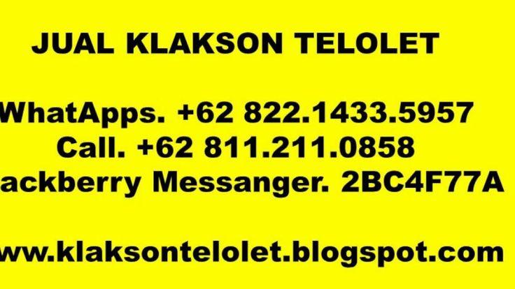 WhatApps. +62 822.1433.5957, JUAL KLAKSON DIGITAL OM TELOLET OM, KLAKSON...