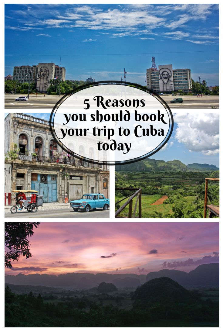 Cuba truly is a unique place to visit. However, there is no guarantee that it will stay this way for long. So you might as well book your trip today.