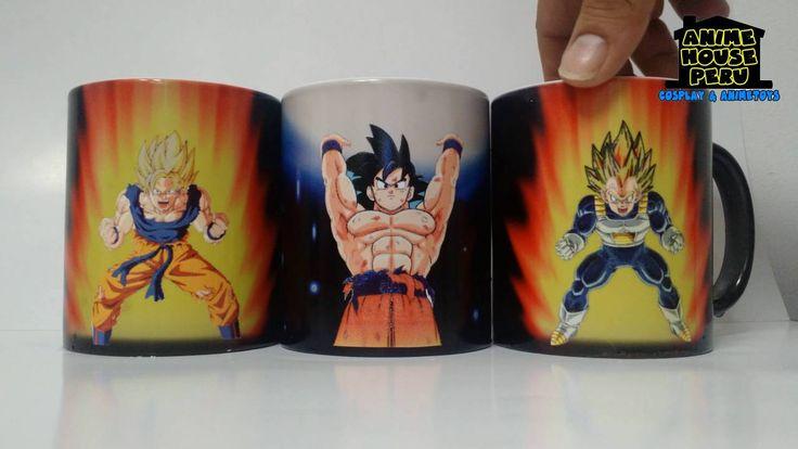 Tazas Magicas 3D , Goku, Tazas personalizadas, Dragon Ball