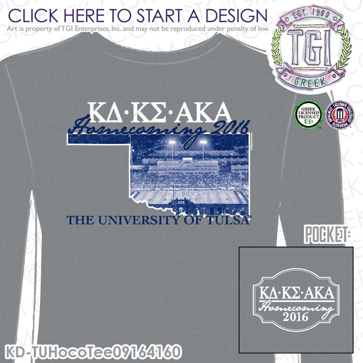 Kappa Delta | ΚΔ | Kappa Sigma | K Sig | ΚΣ | Alpha Kappa Alpha | ΑΚΑ | Homecoming | HOCO | Brotherhood | Sisterhood| Homecoming Tee | Game Day | Custom Fraternity Apparel | Custom Sorority Apparel| TGI Greek | Greek Apparel | Custom Apparel | Fraternity Tee Shirts | Sorority Tee Shirts | Fraternity T-shirts | Sorority T-shirts