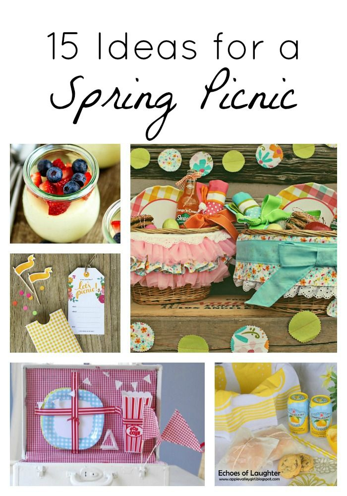 15 Spring Picnic Ideas - I Heart Nap Time | I Heart Nap Time - How to Crafts, Tutorials, DIY, Homemaker