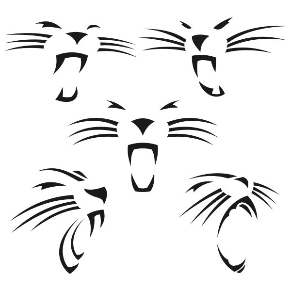 Panther Cat Svg Cuttable Designs
