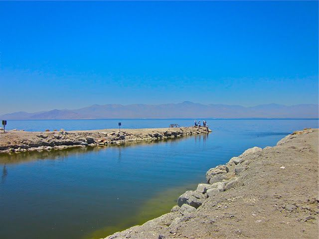 1000 images about ghost towns abandoned sites on la for Salton sea fishing