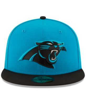 New Era Carolina Panthers Team Basic 59FIFTY Fitted Cap - Blue 7 1/2
