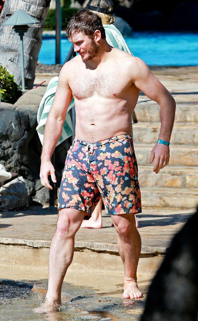 Seeing Chris Pratt Shirtless and Anna Faris in a Bikini Will Leave Everyone Impressed