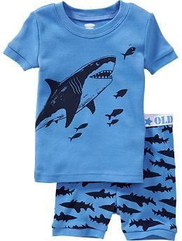 Shark PJ Sets for Baby | Old Navy