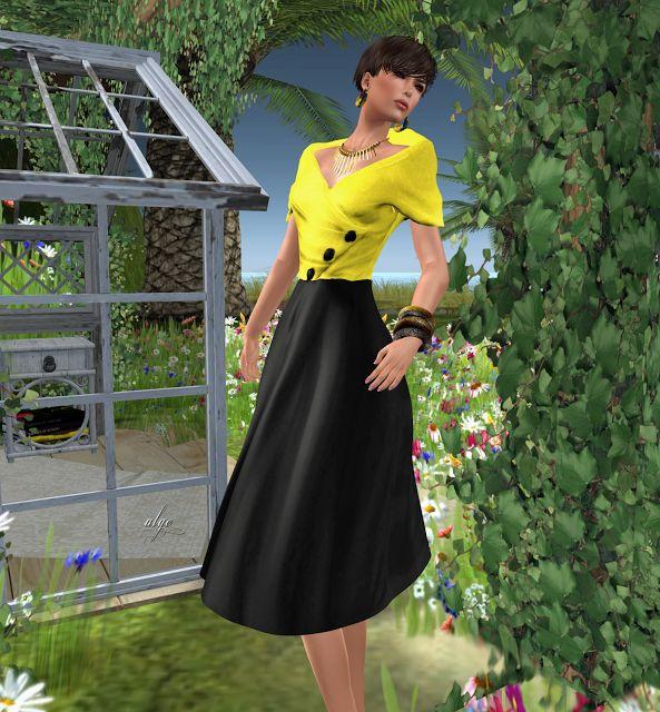 Audrey mesh dress