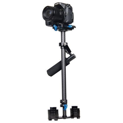 [USD63.36] [EUR57.88] [GBP45.75] YELANGU S60T 60cm Carbon Fiber Handheld Stabilizer for DSLR Camera DV(Black)