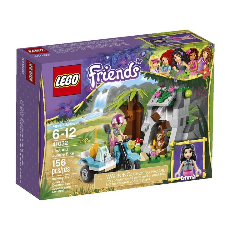 LEGO Friends First Aid Jungle Bike 41032 Building Set fun game toy for girls new #LEGO