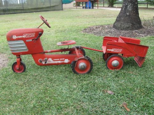 Junior Pedal Tractors Antique : Details about make offer vintage murray trac pedal tractor