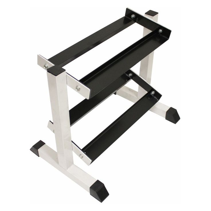 USA Sports by Troy Barbell 2-Tier Compact Dumbbell Rack - GHDR-5