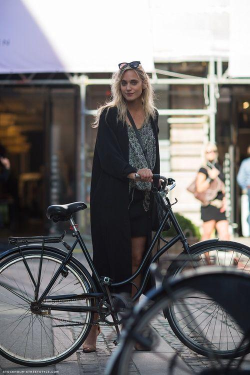 winter long coats for women  Janjarat Amatayakul on Beauty and the bike