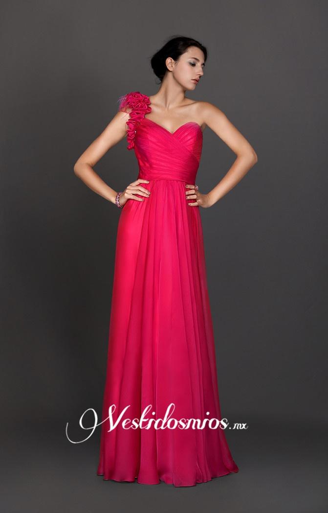 Solo Hombro Vestido de Noche approved bridesmaid dress by estefanie ;]