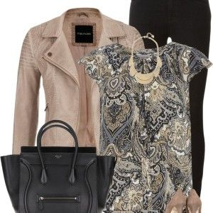 Petite Paisley Top Casual Outfit outfitspedia