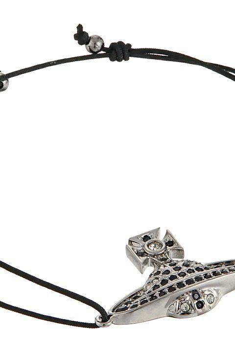 Vivienne Westwood Man Jack Bracelet (Black Diamond) Bracelet - Vivienne Westwood, Man Jack Bracelet, 741595B/4-PEWTER-CN-4BDJ, Jewelry Bracelet General, Bracelet, Bracelet, Jewelry, Gift, - Street Fashion And Style Ideas