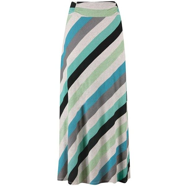 Aventura Blue Turquoise Quinlee Maxi Skirt (93 BRL) ❤ liked on Polyvore featuring skirts, maxi length skirts, long maxi skirts, aventura, long ankle length skirts and blue maxi skirt