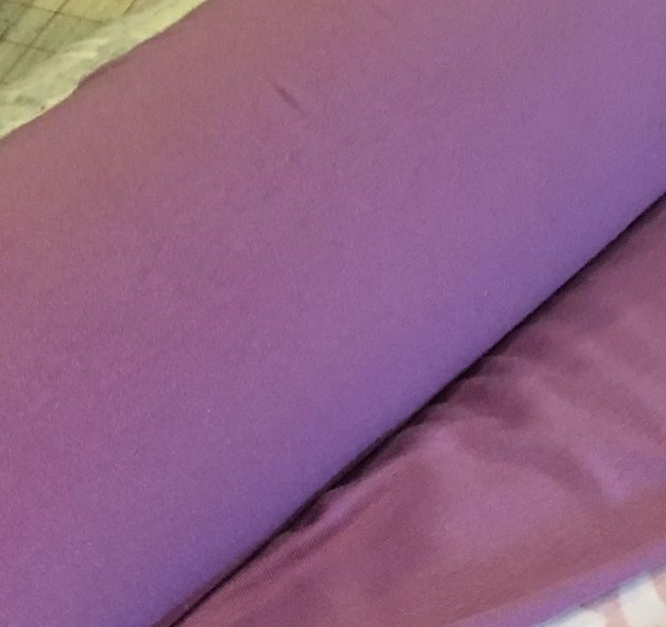 Lavender Cotton Lycra Fabric (yard)