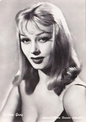 Maria Luisa Mangini aka Dorian Gray. Italian actress ...