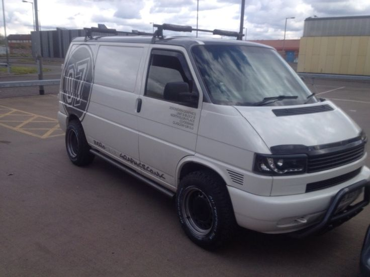 Short nose with bullbar and offroad tires - Has anyone ever put 15' banded steels with offroad tyres? - VW T4 Forum - VW T5 Forum