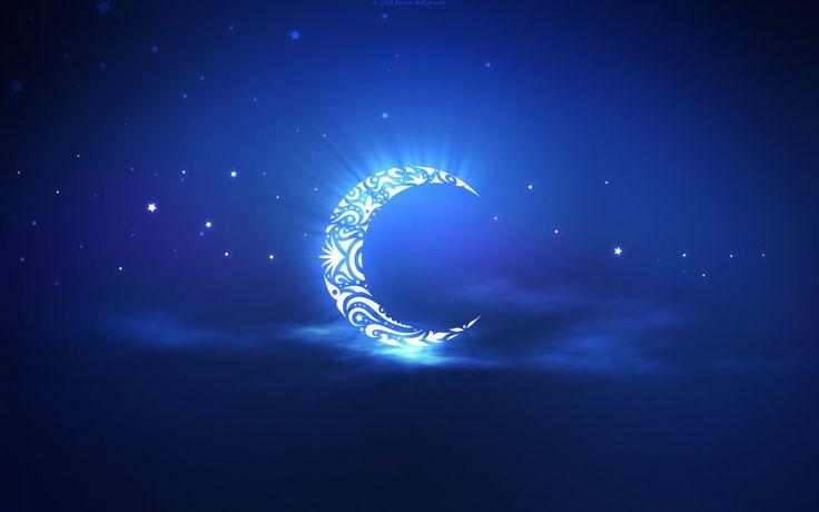 full HD Ramadan Moon View Desktop wallpaper download free for Widescreen, Mobile, Table, Fullscreen, High Definition, Dual Monitors,hd islamic wallpaper