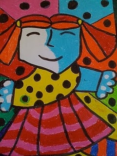 Romero Britto- we're doing him this year. He's such a kid friendly artist- him and the images form Keith Harring.
