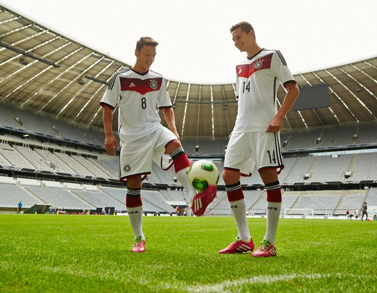 f01c936ab0f15 ... Football Shirts Germany 2014 World Cup Home and Away Kits unveiled. The  new 2014 Germany World Cup World Cup German Jersey ...