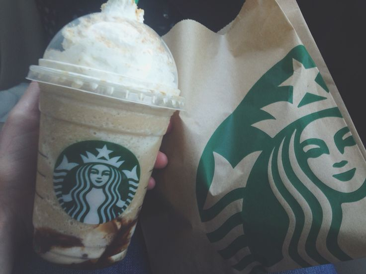 Smores frap and chocolate chunk croissant