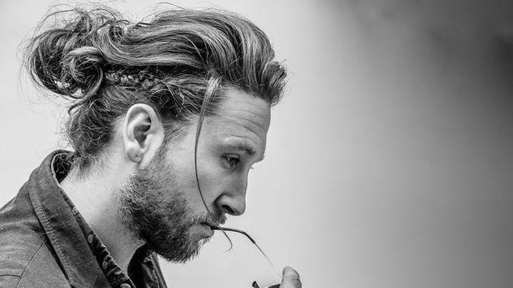 10 Masculine Man Bun Braid Hairstyles To Try Cool Braid