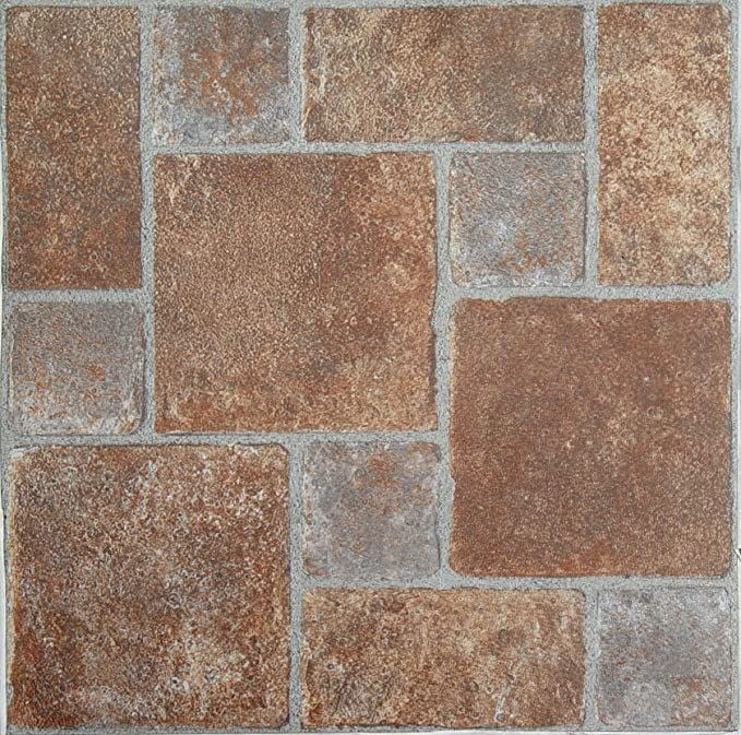 Achim Home Furnishings Ftvgm33220 Nexus 12 Inch Vinyl Tile Geo Brick Pavers 20 Pack Vinyl Floor Coverings Ama In 2020 Vinyl Flooring Vinyl Tile Luxury Vinyl Tile