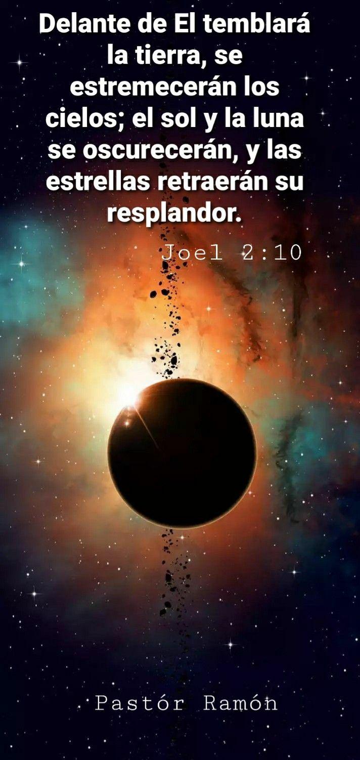 Joel 2 10 Celestial Bodies Moon Body