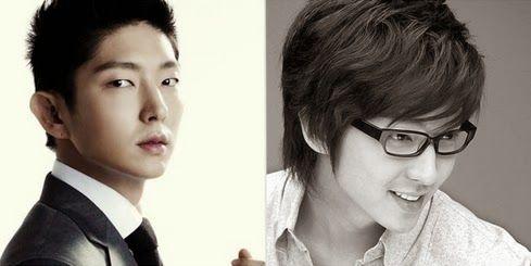 Los actores Masculinos de Corea del Sur con el Cabello largo vs el Cabelllo Corto - Espacio Kpop