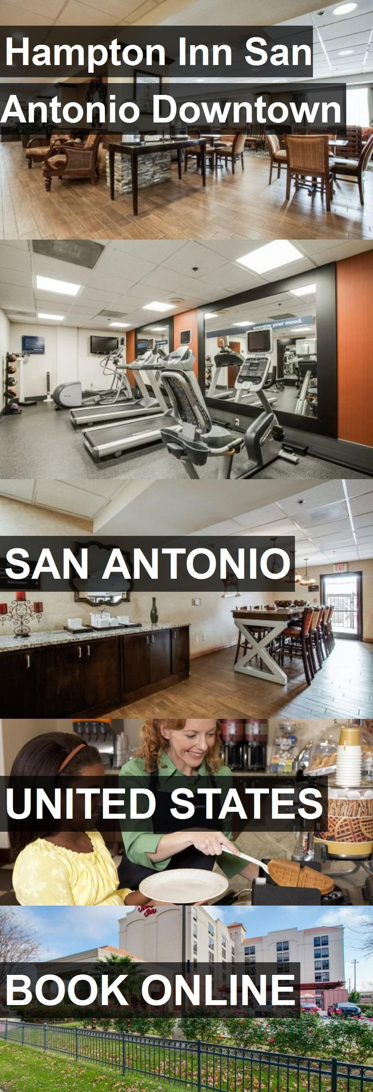 Hotel Hampton Inn San Antonio Downtown in San Antonio, United States. For more information, photos, reviews and best prices please follow the link. #UnitedStates #SanAntonio #travel #vacation #hotel