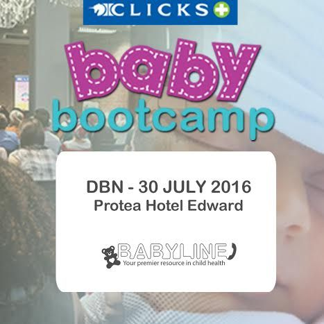 Win ten double tickets to Baby Bootcamp Durban! Please share this if you know any pregnant ladies in the area! Thanks!