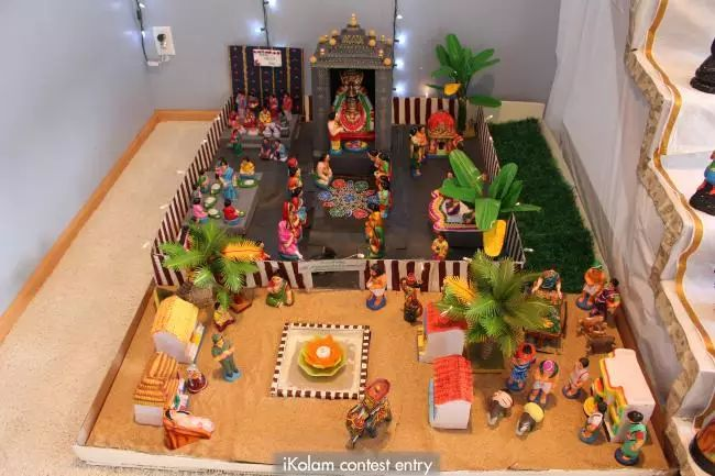 kolam village essay Mattu pongal மாட்டுப் பொங்கல்  an important village sport,  on the first day images of rice are drawn, on the second day good luck signs of sun are drawn and the mattu pongal day kolam depicts cows also pongal food offering in pots on all four days,.