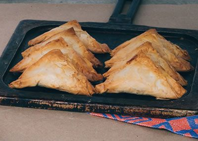 "Mmm ... our magazine team ate our fair share of these while visiting Compassion centers in Uganda this year. Samosas are common snacks for kids all over the country, commonly eaten at ""break tea"" between breakfast and lunch. #ugandanfood #kidsrecipe #familyrecipe #samosarecipe #samosas #vegetarian #uganda"