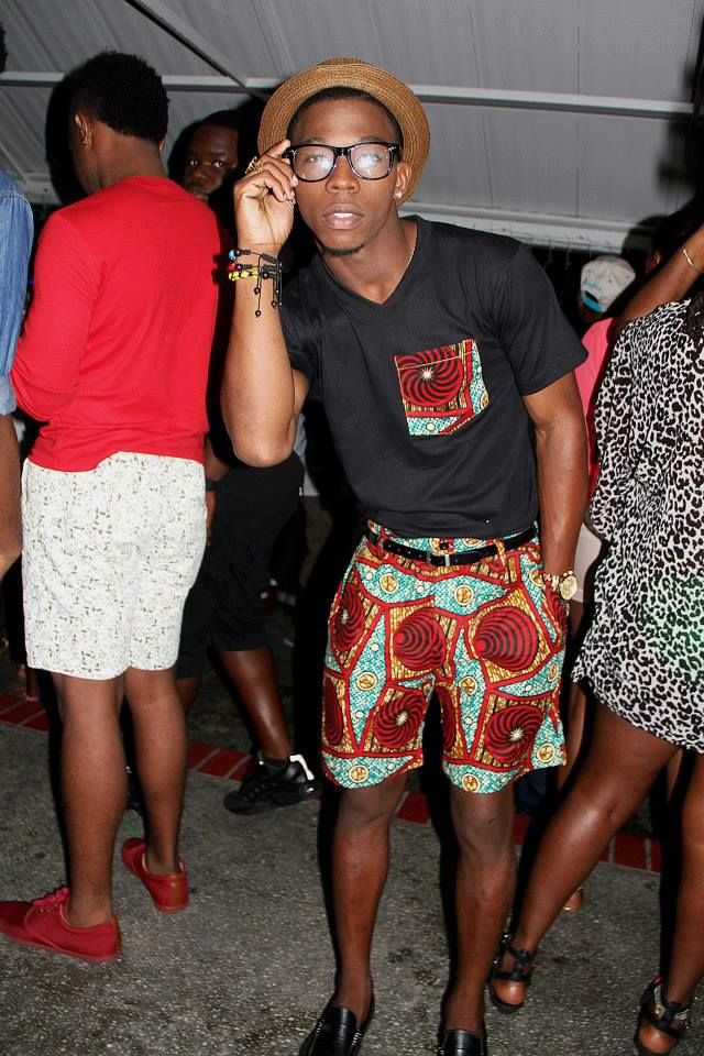 ankara short for Men